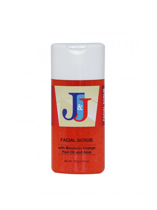 J&J Facial Scrub with Mandarin Orange Peel Oil...