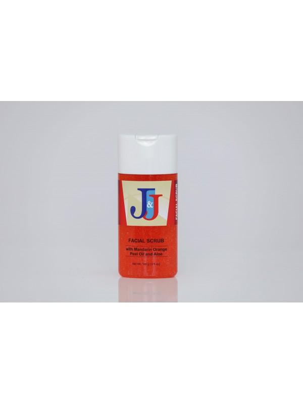 J&J Facial Scrub with Mandarin Orange Peel Oil...
