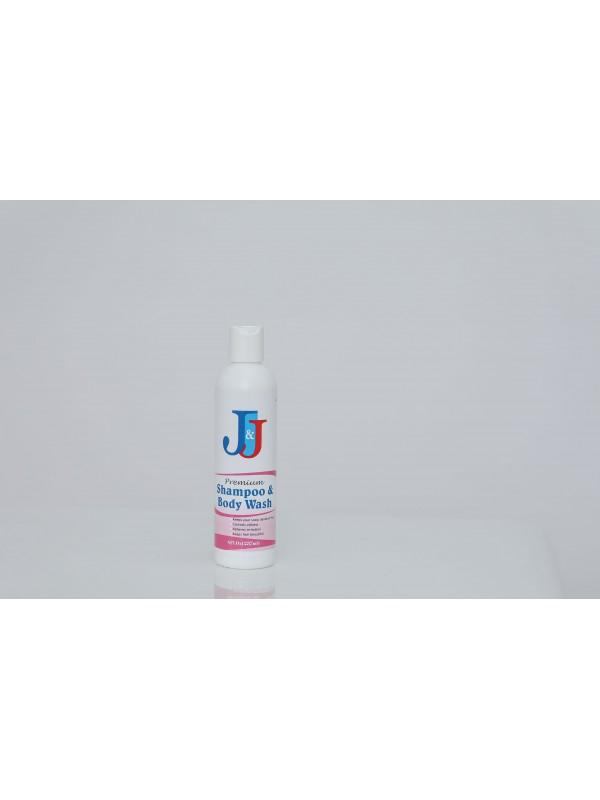 J&J Premium Shampoo & Body Wash